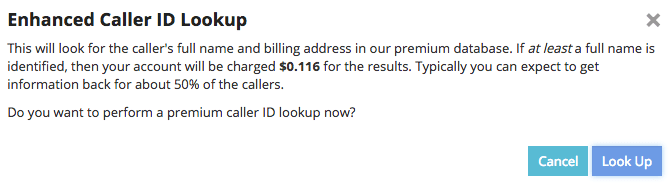 Enhanced Caller ID